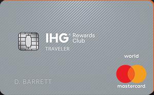 image of IHG Rewards Club Traveler credit card