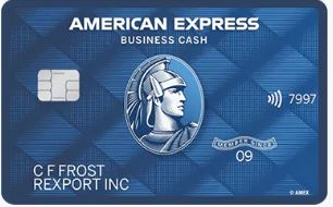 image of Amex blue business cash card