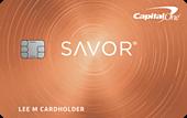 Capital One Savor Cash Rewards Card image