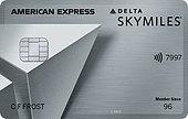 Delta SkyMiles Platinum Amex Card Logo